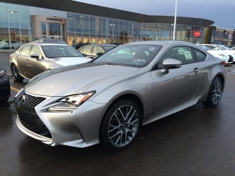 new 2015 lexus rc 350 2dr cpe awd review youtube. Black Bedroom Furniture Sets. Home Design Ideas