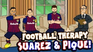 ⏱️Suarez & Pique -FOOTBALL THERAPY!⏱️ Barcelona 3-4 Real Betis +Sterling's Step-Overs, Pogba +more!
