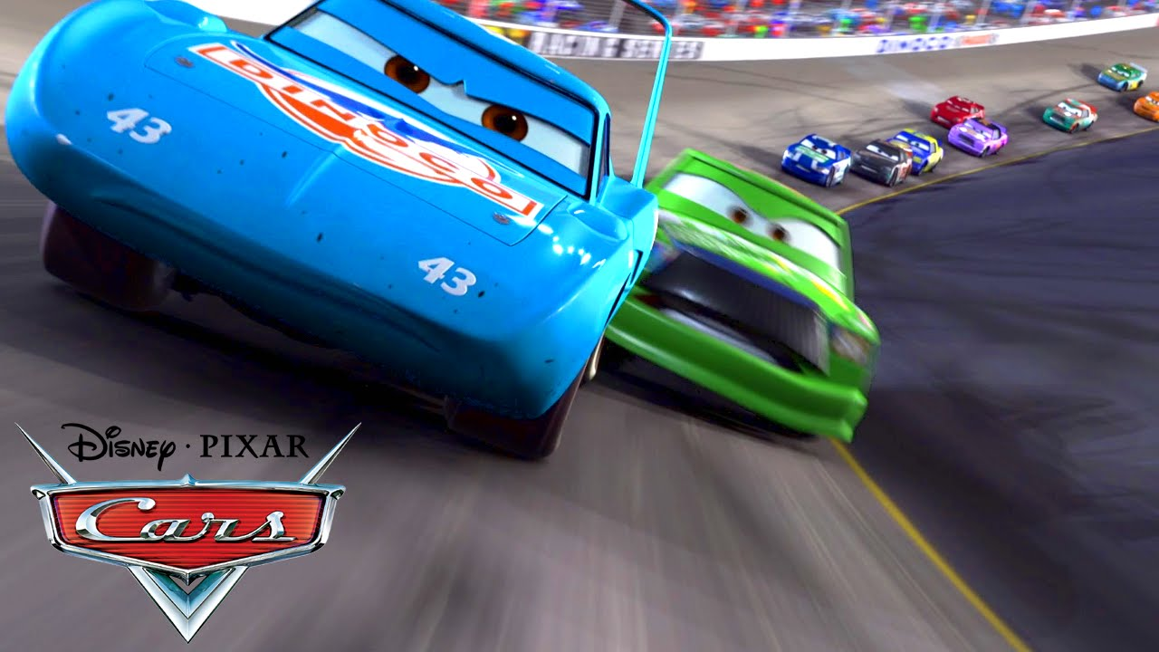 Cars The King Crash Gif