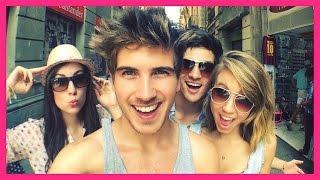 YOUTUBERS IN BARCELONA!