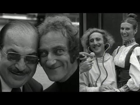 Young Frankenstein s  Gene Wilder, Marty Feldman & Cloris Leachman