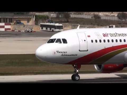 Air Bishkek Landing