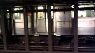 IRT Lenox Avenue Line: New Lots Avenue bound 3 Train at 116 Street