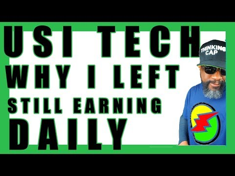 Why I Left USI Tech...How I'm STILL Making Residual Income