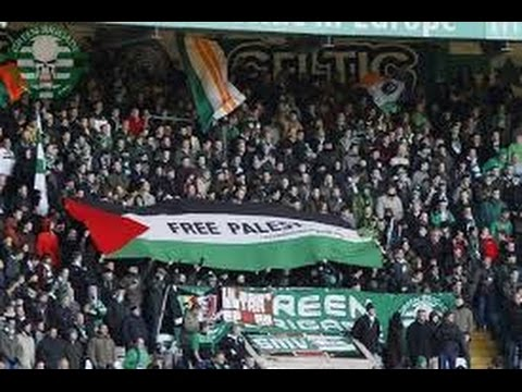 Celtic Fans Show they Support To Palestine In Champions Leauge - #RESPECT