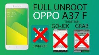 UNROOT OPPO A37F VIA FLASHING FIRMWARE DI JAMIN BERHASIL 100 % TESTED
