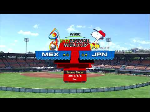 Mexico v Japan - Bronze Medal Game - WBSC U-12 Baseball World Cup 2017