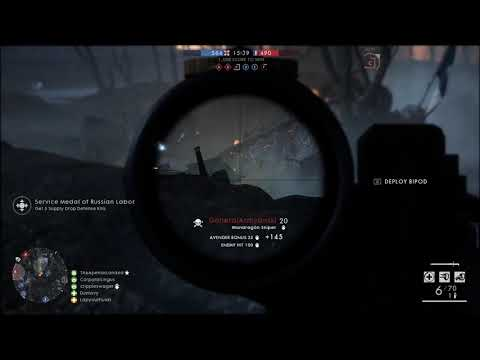 Battlefield 1/ best kills on Nivelle Nights