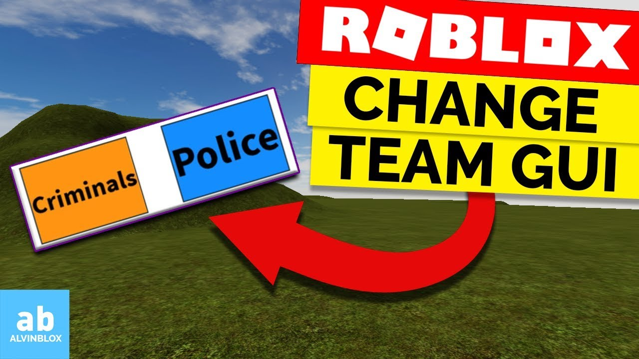Howto Make A Text Color Change In Guis On Roblox By How To Make A Team Change Gui On Roblox Youtube