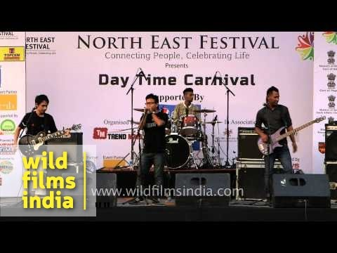 Northeast Festival 2014 - at IGNCA ground, Delhi