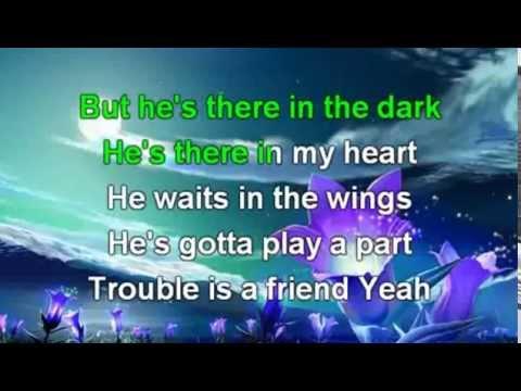Lenka  Trouble is a Friend Karaoke