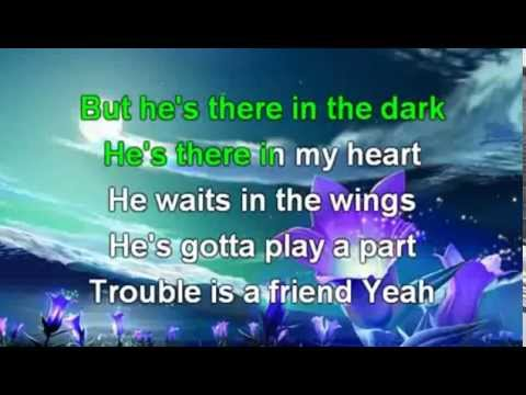 Lenka  Trouble is a Friend Karaoke