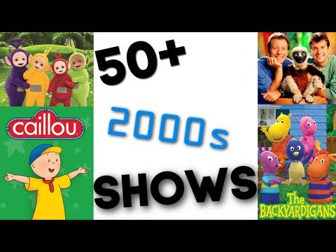 50 2000s Children Shows How Many Have You Seen Game Youtube