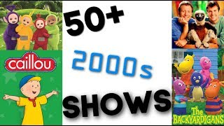 50+ 2000s Children Shows! | How Many Have you Seen? *GAME*