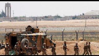 أخبار عربية - حشود عسكرية تركية بالقرب من مدينة #تل_أبيض شمال #الرقة