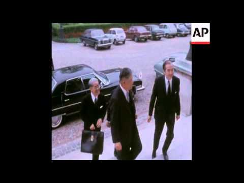 SYND 2 5 73 JAPANESE FOREIGN MINISTER MEETS FRENCH FOREIGN MINISTER IN PARIS