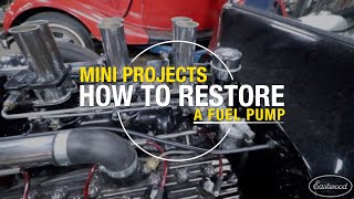 How to Restore a Fuel Pump for a Ford Flathead Engine - Eastwood