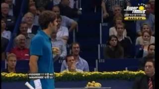 Federer - Wawrinka   BASEL2011  Roger