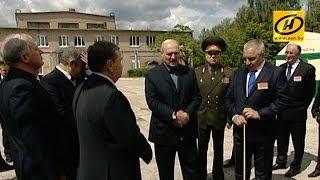 Президент посетил предприятия оборонного сектора в Борисове