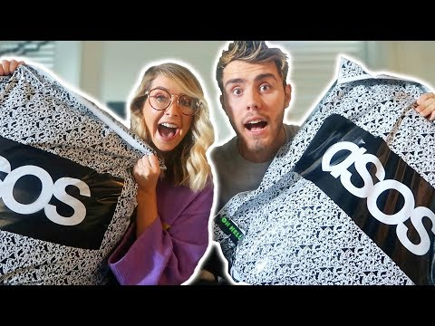 GIRLFRIEND DOES MY ASOS SHOP!