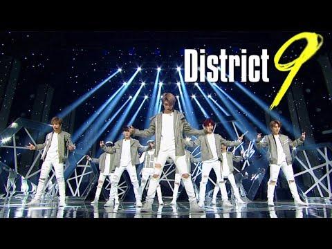 """Debut Stage"" Stray Kids - District 9 @ Lagu Populer Inkigayo 20180401"