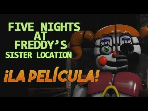 Five Nights at Freddy's Sister Location: La Película Completa | The Movie (Español)