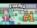 Pokemon FireRed #1( The Adventure Begins)