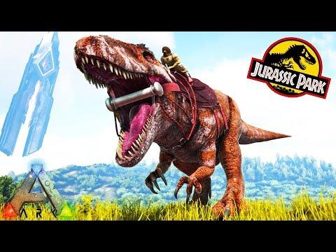 ARK ACROCANTHOSAURUS, VIPER SHOULDER PET and MORE!! Ark Survival Evolved Jurassic Park Expansion Mod