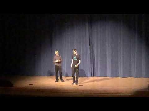 2018 Harper Creek Middle School Follies - Calvin and Mitchell