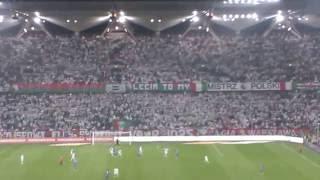 LEGIA- Lech  Poznań 2:1 Ile goli ma Legia ? dwa a kurwy chuj !!