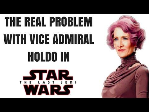 Vice Admiral Holdo in The Last Jedi: A Real Problem