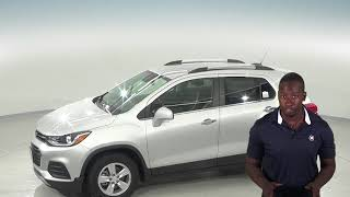 182883 - New, 2018, Chevrolet Trax, LT, SUV, Silver, Test Drive, Review, For Sale -