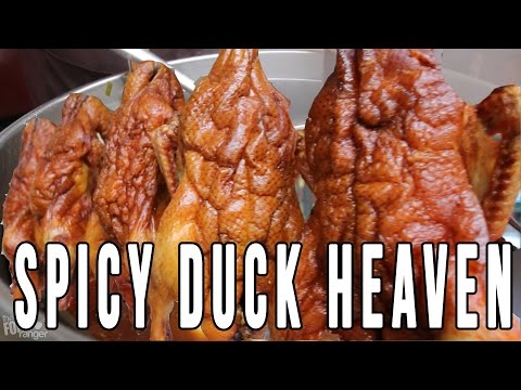 Chinese Street Food  2.0 (Chengdu, China)   Spicy Duck Hot Pot + More