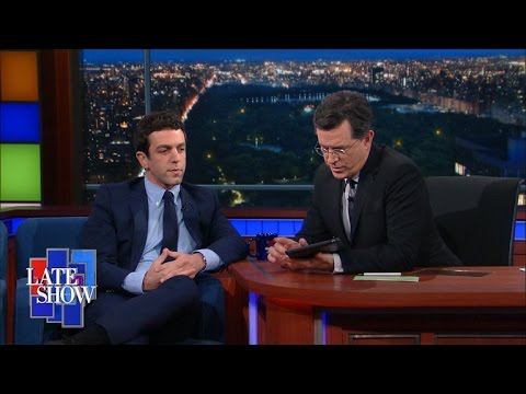 Stephen Tries Out B.J. Novak's li.st App