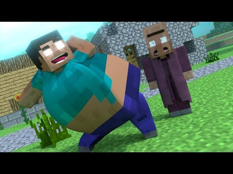 Top 4 Funny Minecraft Animations BY MrFudgeMonkeyz