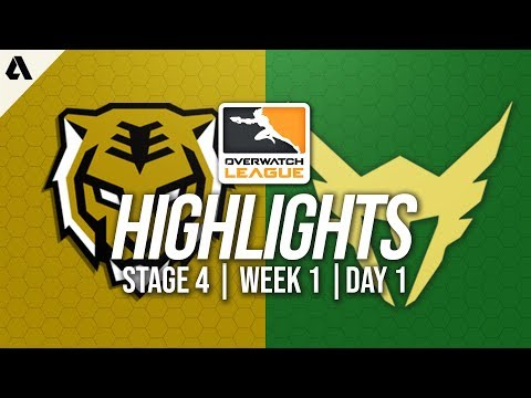 Seoul Dynasty vs Los Angeles Valiant | Overwatch League Highlights OWL Stage 4 Week 1 Day 1