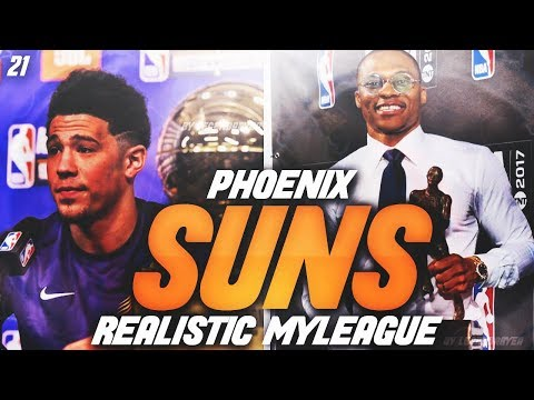 DEVIN BOOKER FUTURE MVP?! | NBA 2K18 PHOENIX SUNS MYLEAGUE