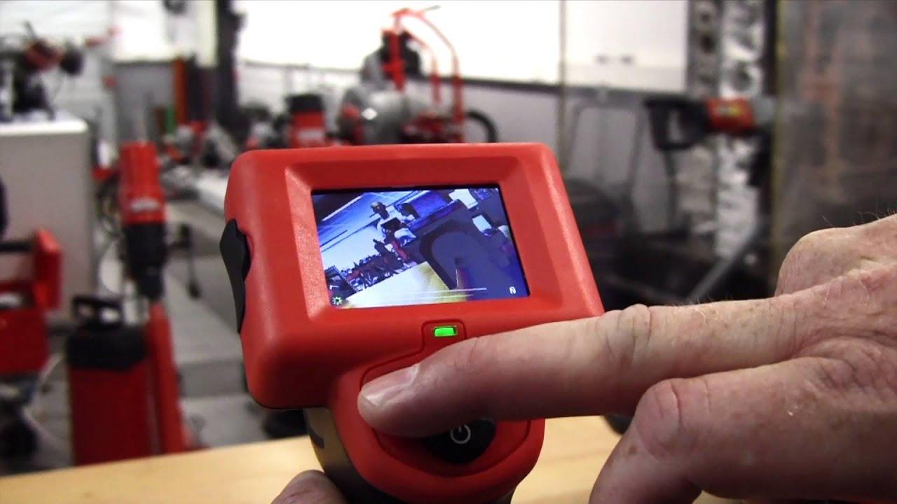 ridgid micro ca 25 inspection camera youtube. Black Bedroom Furniture Sets. Home Design Ideas