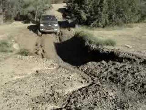 Josiah at Frank raines mud pit