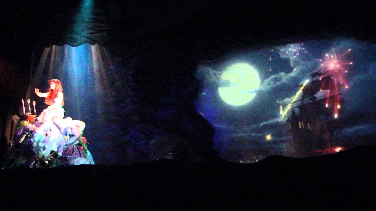 Voyage of the little mermaid show at disney 39 s hollywood for Sejour complet disney