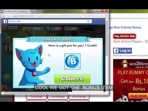 Collect BINGO Blitz Bonuses Shared By Other Players : Gameskip.Com
