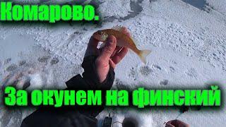 Рыбалка в Комарово За окунем на финский залив