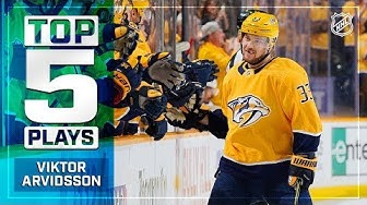 Top 5 Viktor Arvidsson plays from 2018-19