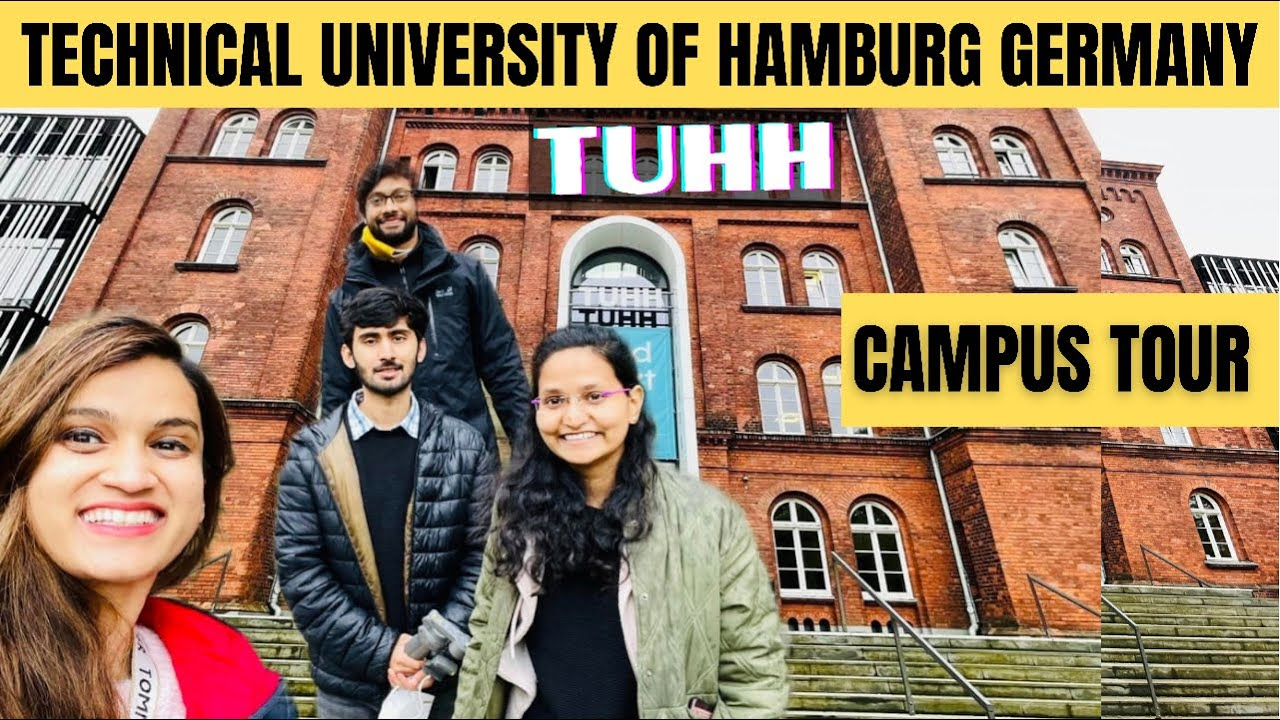 Download TUHH University Campus Tour Hamburg Germany University TU Hamburg
