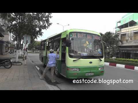 bac lieu public bus to Langtram bus station