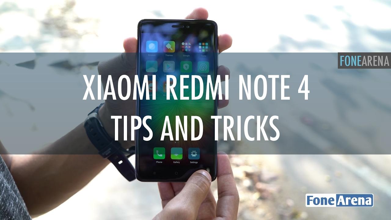 Xiaomi Redmi Note 4 Tips And Tricks