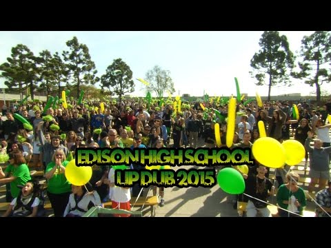 Edison High School - LIP DUB 2015 -