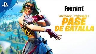 Fortnite - Capítulo 2  temporada 1 Tráiler del pase de batalla | PS4