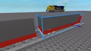 Roblox studio How to make train tracks for your train