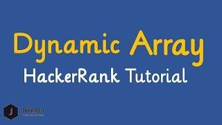 Dynamic Array In C Hackerrank Solution